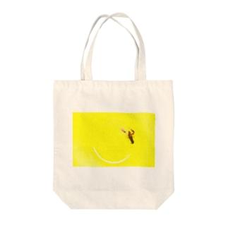 キケン Tote bags