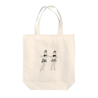 ゆらゆら Tote bags