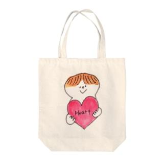 Heart Tote bags