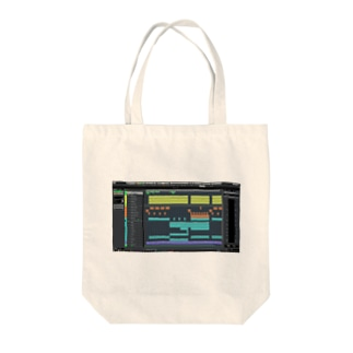DAWプリント トコナツサーキット Tote bags