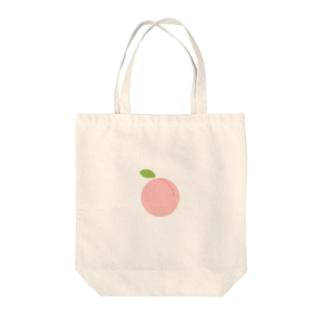 洋さんのおいしい桃 Tote bags