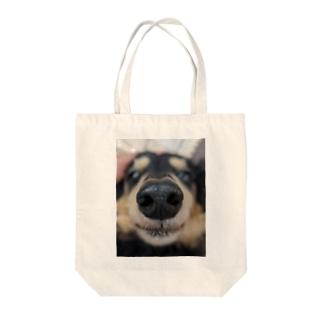 マズルピックアップ Tote bags