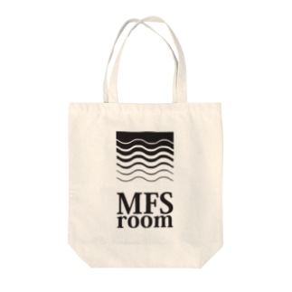 MFS room trim5(黒) Tote bags