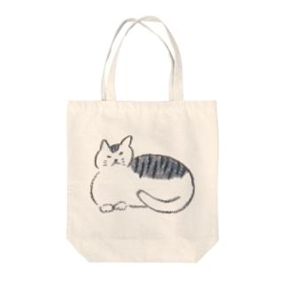 モチネコ Tote bags