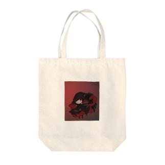不敵な笑みの魔女 Tote bags