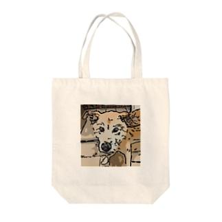 【保護犬/迷子犬】タロちゃん Tote bags