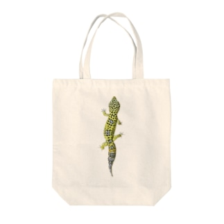 レオパードゲッコー Tote bags