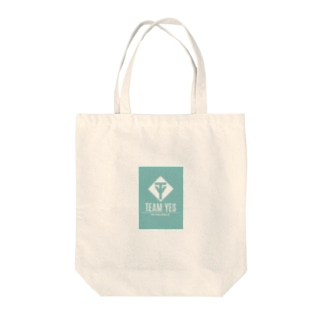 YES ターコイズブルー Tote bags