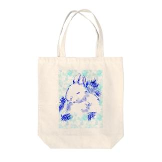 うさぎ~冬バージョン~ Tote bags