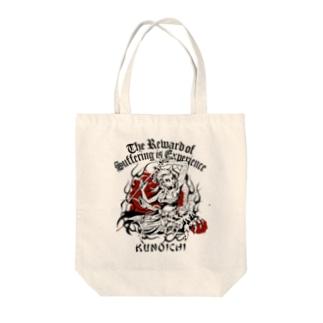 KUNOICHI Tote bags