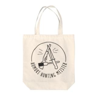 AOMORI HUNTING MEISTER Tote bags
