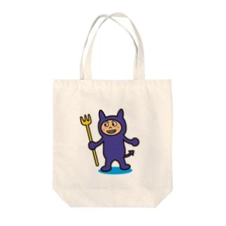 破壊王子・デビルくん Tote bags