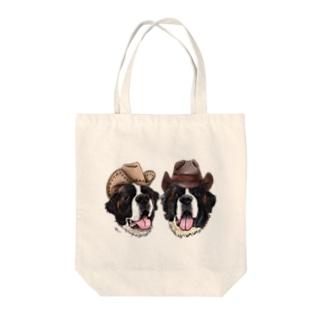 カウボーイなセントバーナードくん❤︎ Tote bags