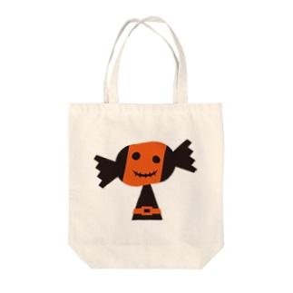 ハロウィンキティ☆パンプ Tote bags