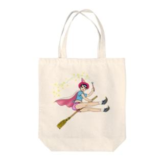 HAPPY魔女・宝来なつめ002 Tote bags