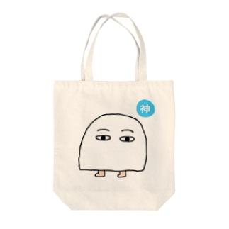 小メジェド(神) Tote bags