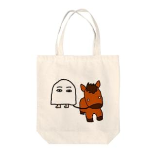 メジェド(馬) Tote bags