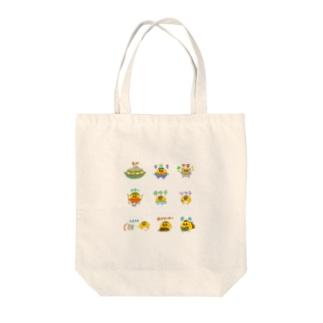 バリエ竹内ケザドリ Tote bags