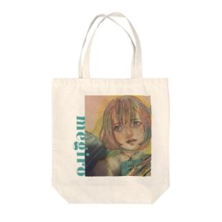 メジロ Tote bags