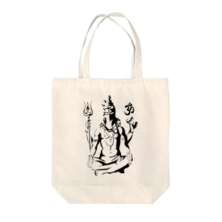 Shiva Tote bags