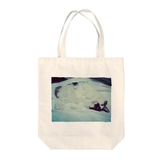 うちのねこ、つばきちゃん Tote bags