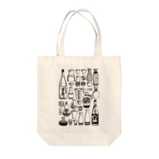 はなのかふぇ*の日本酒が好きな人に着て欲しい Tote bags