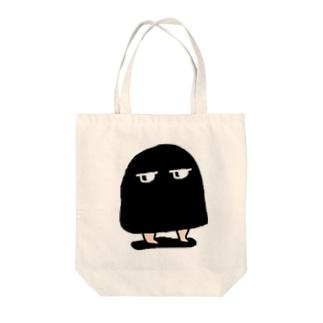 メジェド(黒) Tote bags
