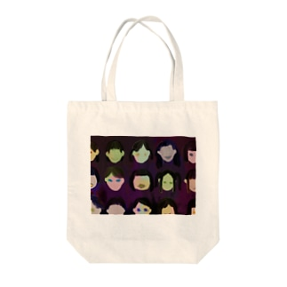 hysteric school girls Tote bags