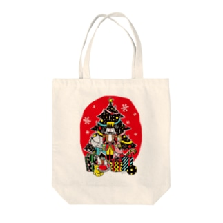 Illustrator Kentaro Hisa Webshopのくるみ割り人形 Tote bags