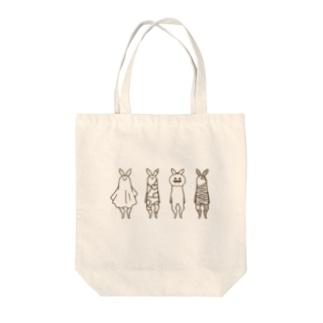 ハロウィンコレクション Tote bags