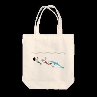 花くまゆうさくのおやつタイム Tote bags
