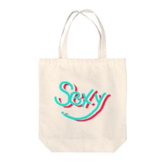sexy(vivid) Tote bags