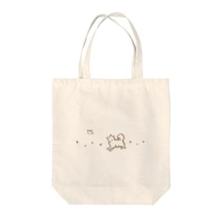 わんことことり おさんぽバッグ(ナチュラルカラーVer.) Tote bags