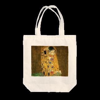 dohshinのグスタフ・クリムト『 接吻(The Kiss) 』 Tote bags
