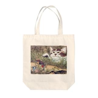 河鍋暁斎『 化け猫 』 Tote bags