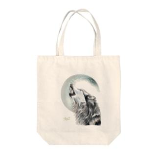 MoonWolf Tote bags