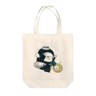 MINI BANANA Tote bags