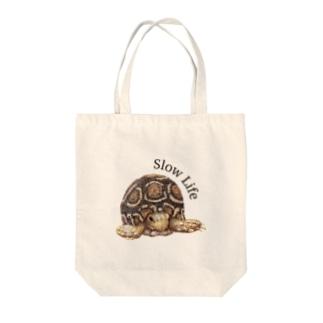 亀さんトートバック Tote bags