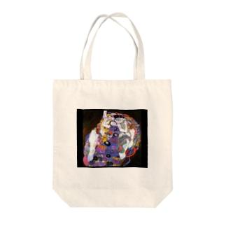 グスタフ・クリムト『 バージンズ 』 Tote bags