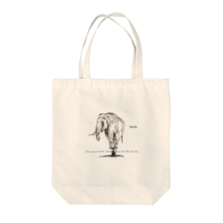 caffe Zoo Elephant Tote bags
