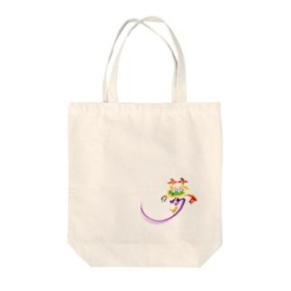 夢を描くB Tote bags