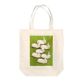 白兎群衆 Tote bags