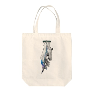 frog-ring Tote bags
