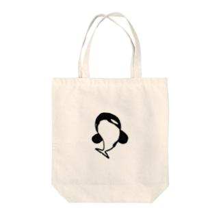 えびぞりシャチ Tote bags