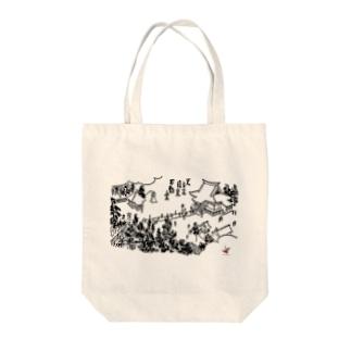 #いくぞ岩田屋  明治の日本橋 Tote bags