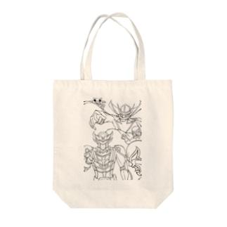 超輝神シャイニンガー Tote bags