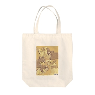 lovely dogs(ver.retro) Tote bags
