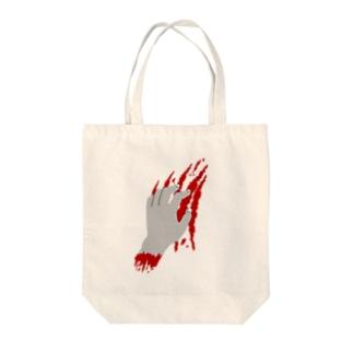 破壊〜血塗れver.〜 Tote bags