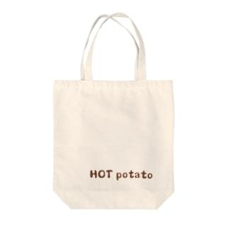 Hot potato Tote bags