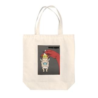 天使と悪魔 Tote bags